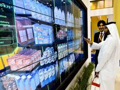 Grocery shopping in Dubai has become a breeze as Dubai Metro commuters can now shop through the Roads and Transport Authority's (RTA) Smart Mall and have the goods delivered home free of cost. Currently live at Mall of the Emirates metro station and on display at the 35th Gitex Technology Week, the