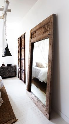 Home Decor Inspiration Bedroom Mirror Designs That Reflect Personality.Home Decor Inspiration Bedroom Mirror Designs That Reflect Personality Bali Bedroom, Bedroom Decor, Bedroom Furniture, Wood Furniture, Antique Furniture, Tribal Bedroom, Quirky Bedroom, Earthy Bedroom, Bali Furniture