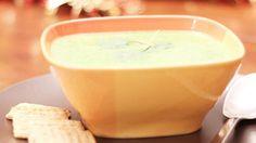 Sopa de Espinaca con Yogurt - QueRicaVida.com