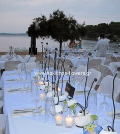 Wedding tables decoration & styling