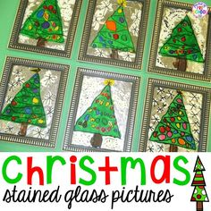 A Christmas Parent Gift.Stained Glass Window Pictures Every year in December students make Christmas gifts for their parents. This year I decided to make stained glass window pictures! Preschool Christmas, Noel Christmas, Christmas Activities, Christmas Projects, Preschool Crafts, Christmas Themes, Christmas Toys, Christmas Cookies, Christmas Decorations