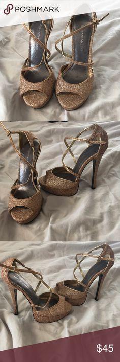 I just added this listing on Poshmark: Adrienne Maloof Sky-High Gold Heels. #shopmycloset #poshmark #fashion #shopping #style #forsale #Adrienne Maloof #Shoes