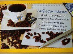 Evento Cafe COM Internet da WBI Brasil #marketingdigital #ecommerce #redessociais #cafecominternet #WBIBrasil E Commerce, Internet, Cinnamon Sticks, Spices, Social Networks, Ecommerce, Spice