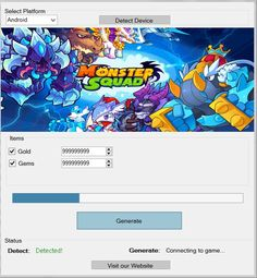 Download Monster Squad Hack Tool Cheats Engine No Survey