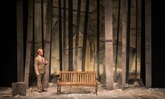 A Walk in the Woods. Scenic design by Shawn Fisher.
