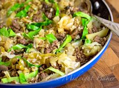 Simple Skillet Cabbage Roll Casserole