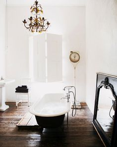 The Most Beautifully Rustic Bathrooms You'll Ever See via @MyDomaine