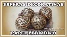 Beatriz Elena Bolivar Ortiz shared a video Recycled House, Recycled Crafts, Handmade Crafts, Diy Crafts, Christmas Minis, Christmas Balls, Newspaper Crafts, Filigree Design, Paper Basket