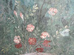 The Garden Painting of the Villa of Livia at Prima Porta in Rome (30-20 BC) - Archaeological Museum Palazzo Massimo - Rome | Flickr - Photo Sharing!