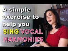A simple ear training exercise to help you sing vocal harmony and stick to your vocal line. #singing