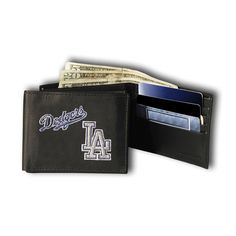 Los Angeles Dodgers MLB Embroidered Billfold Wallet