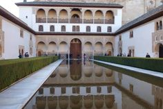 Courtyard of the Myrtles in the Alhambra. http://archnet.org/sites/2549