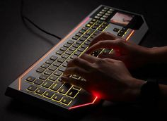 Star Wars: The Old Republic Gaming Keyboard by Razer  http://www.lovedesigncreate.com/star-wars-the-old-republic-gaming-keyboard-by-razer/