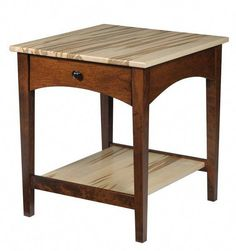 Amish Modern Shaker End Table Amish Modern Shaker End Table. Solid shaker furniture in choice of wood and finish. Woodworking Projects That Sell, Woodworking Furniture, Fine Woodworking, Woodworking Machinery, Woodworking Videos, Woodworking Garage, Youtube Woodworking, Woodworking Supplies, Woodworking Classes
