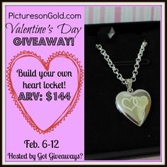 Enter to Win a Photo Locket from PicturesonGold.com! ($144 value)