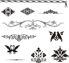 free-vector-european-gorgeous-pattern-element-vector_023611_Design_elements.jpg 2,370×2,171픽셀