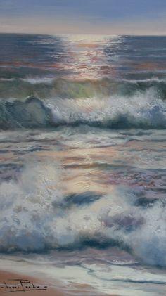 By Luis Pardo  Óleo / Tabla - 35 x 20 cm