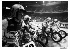 MotArt: Flat track Motorcycle Race
