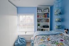 Ikea Hack children's cabin bed and Pax Wardrobe and Billy Bookcase - Ikea DIY - The best IKEA hacks all in one place Ikea Kids Bed, Ikea Bed, Ikea Hacks, Dream Bedroom, Kids Bedroom, Bedroom Loft, White Mid Sleeper, Childrens Cabin Beds, Ikea Hack Bedroom