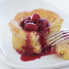 Corn Cakes and Spiced Cranberries | Food & Wine