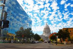 Madison WI Wisconsin State Capital