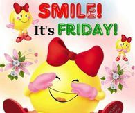 Smiley Its Friday Quote Friday Gif, Friday Weekend, Its Friday Quotes, Friday Morning, Good Morning Friday Pictures, Happy Friday Pictures, Best Positive Quotes, Good Morning Inspirational Quotes, Facebook Image