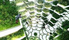 вертикальная ферма #архитектура