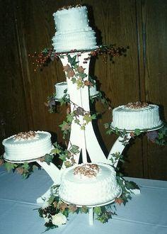 Wedding cakes by Karen's Kaykes