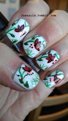 Cute spring time nails!
