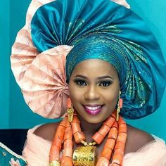 #ighogele The Head Gear SlayerWe love#Everythingonfleek #ijawwedding