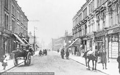 Photo of Battersea, Northcote Road from The Francis Frith Collection London History, Local History, Vintage London, Old London, Morning Pictures, London Photos, Granada, Old Photos, Roads