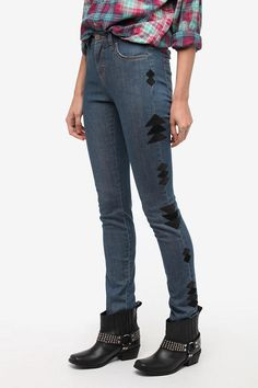 BDG x The Reformation Cigarette High-Rise Jean  From urbanoutfitters.com