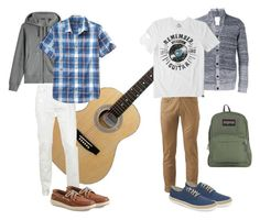 Remeber the guitar by egyptiandesigner on Polyvore featuring Life is good, Banana Republic, Dockers, Burberry, Belstaff, Stephan Schneider, Original Penguin, Sperry, JanSport and AG Adriano Goldschmied