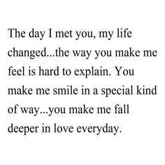 Du förändrar hela min världsbild