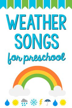 Weather Songs for Preschool Kids - Pre-K Pages