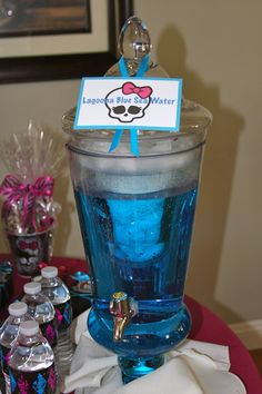 Drinks at a Monster High Party-----Monster High Party for Belle