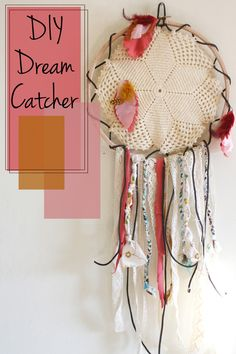 DIY Dream Catcher. That's definitely the cutest one I've seen.