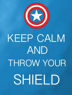 Keep Calm Captain America by Mr-Saxon