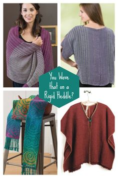 Try these tips to keep your rigid heddle weaving interesting! Go beyond the…
