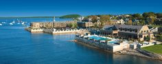 Harborside Hotel in Bar Harbor, Maine