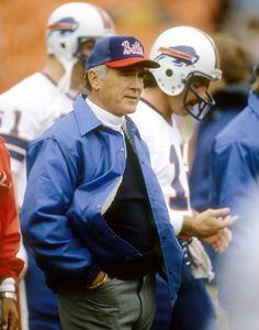 Minnesota Vikings Head Coach Bud Grant On The Sidelines Against Miami Dolphins At Orange Bowl