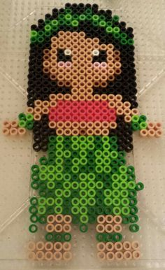 Disney perler bead lilo and stitch pattern by Amy lynn