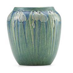 Snow Drops Vase | Newcomb College | Henrietta Bailey | Price Estimate: $1500 - $2000