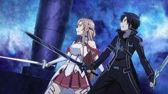 I love these two. <3 Kirito x Asuna
