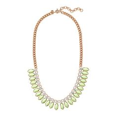 Sunflower necklace - necklaces - Women's jewelry - J.Crew