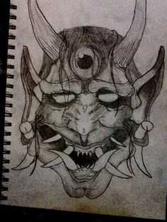 Hannya mask by ghost