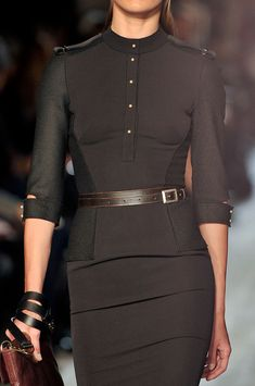 Victoria Beckham Fall 2012..what a beautiful little dress an such detail!