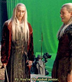 Lee Pace as Thranduil in The Hobbit Trilogy (gif) Lee Pace Thranduil, Legolas And Thranduil, Tauriel, Aragorn, Hobbit 3, Tolkien Hobbit, Fellowship Of The Ring, Lord Of The Rings, Lotr Cast