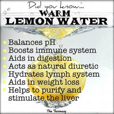 Benefits Of Lemon Water Health