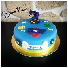 Gâteau Pat Patrouille Paw Patrol Birthday Cake, Paw Patrol Cake, Paw Patrol Party, Minecraft Cake, Party Cakes, Food And Drink, Pasta, Desserts, Recipes